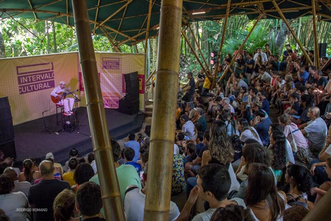 Show do Intervalo Cultural na PUC Rio